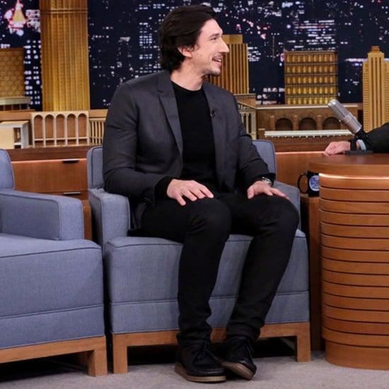 Adam Driver Talks Star Wars on Jimmy Fallon