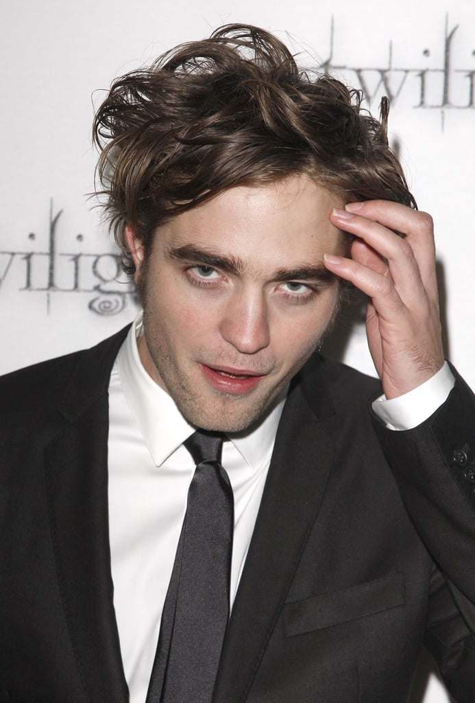 Rob kept his hair in check while arriving at the London premiere of Twilight in December 2008.