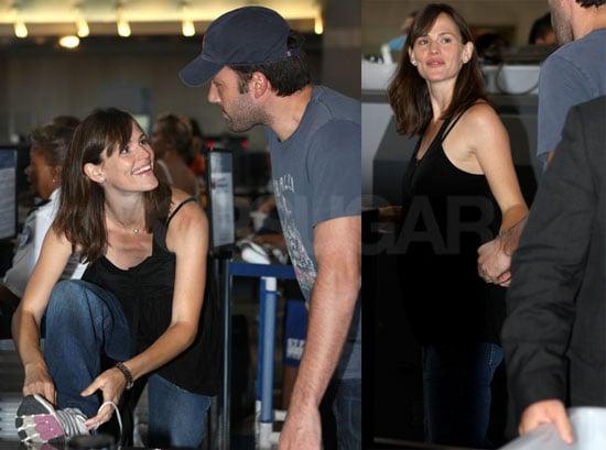 Photos of Jennifer Garner and Ben Affleck at LAX