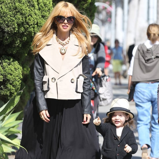 Rachel Zoe and Skyler Berman Walking in LA