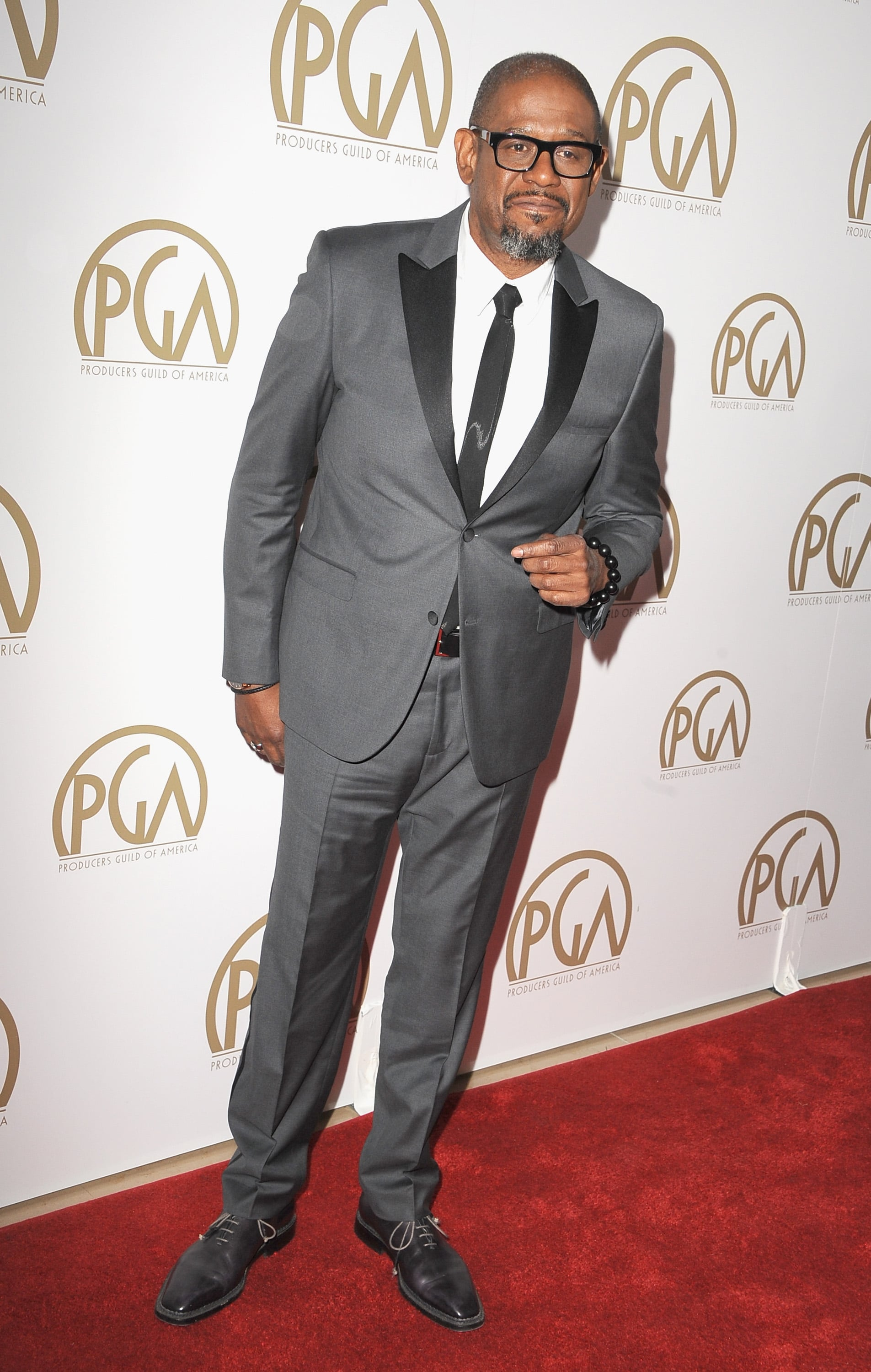 Forest Whitaker was one of many on the star-studded guest list.
