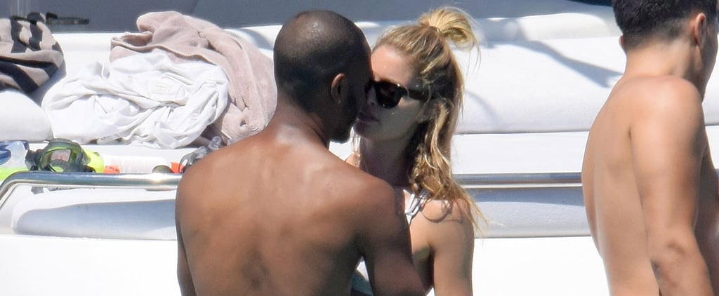 Model Doutzen Kroes Packs On the PDA With Her Husband While Relaxing on a Yacht