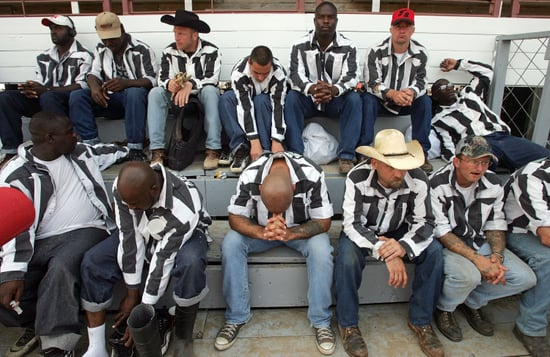 Murderers Become Cowboys at Prison Rodeo