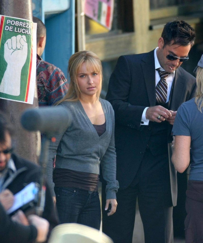 Hayden and Milo and On Set Heroes