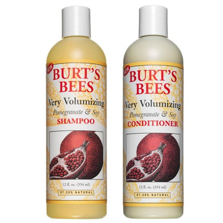 Burt's Bees Pomegranate & Soy Shampoo and Conditioner, $17.95 each