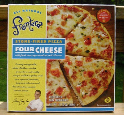 Food Review: Frontera Four Cheese Pizza