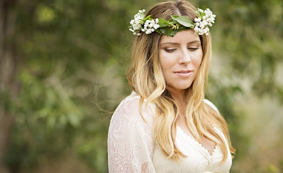 Maternity Shoot Trend: Floral Crowns