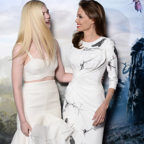Angelina Jolie's Style While Promoting Maleficent