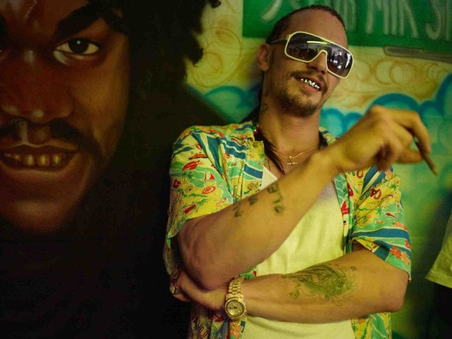 Alien, Spring Breakers Franco's grilled gangster might be one of my favorite roles of his, but that doesn't mean those cornrows are going to escape mockery. Source: A24