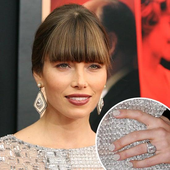Jessica Biel's Caviar Manicure