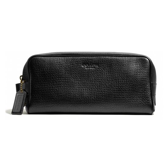 The travel case can be considered the male equivalent of a makeup bag: pretty much every guy has one. Give this Coach Crosby Dopp Kit in Box Grain ($198) to the man who needs a jet-setting update.