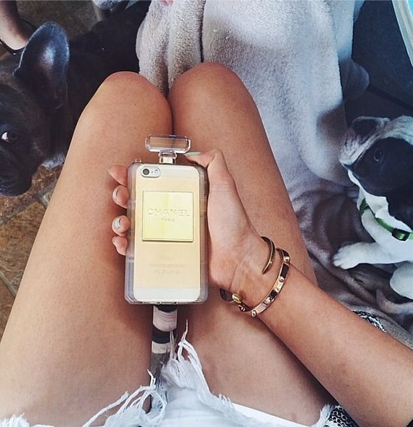 Chanel-Inspired iPhone Cover
