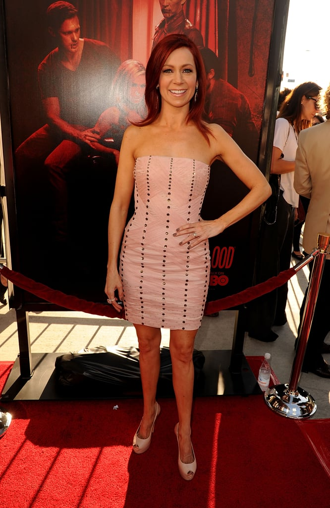 Carrie Preston stepped out to support her True Blood cohorts at the Hollywood event.
