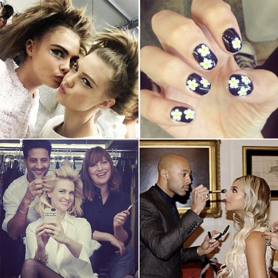 Celebrity Beauty Instagrams | Jan. 22, 2014