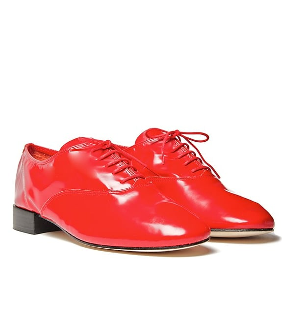 Give your look the ultimate pop of color and charm with these Repetto Zizi Femme Oxfords ($350).