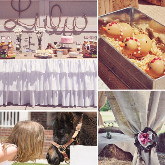 A Cowgirl-Chic Birthday Party