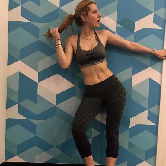 Bella Thorne Gym Instagram Photos