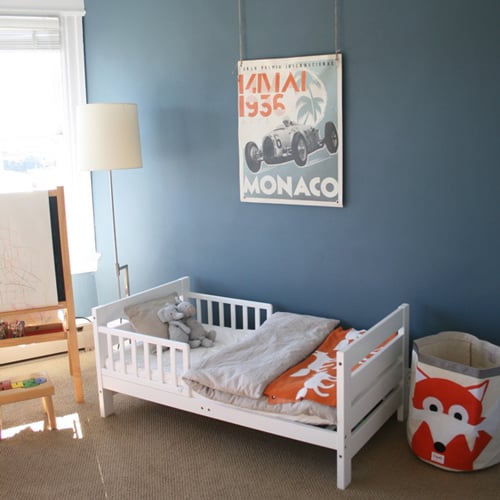 Boy's Room in Orange and Blue