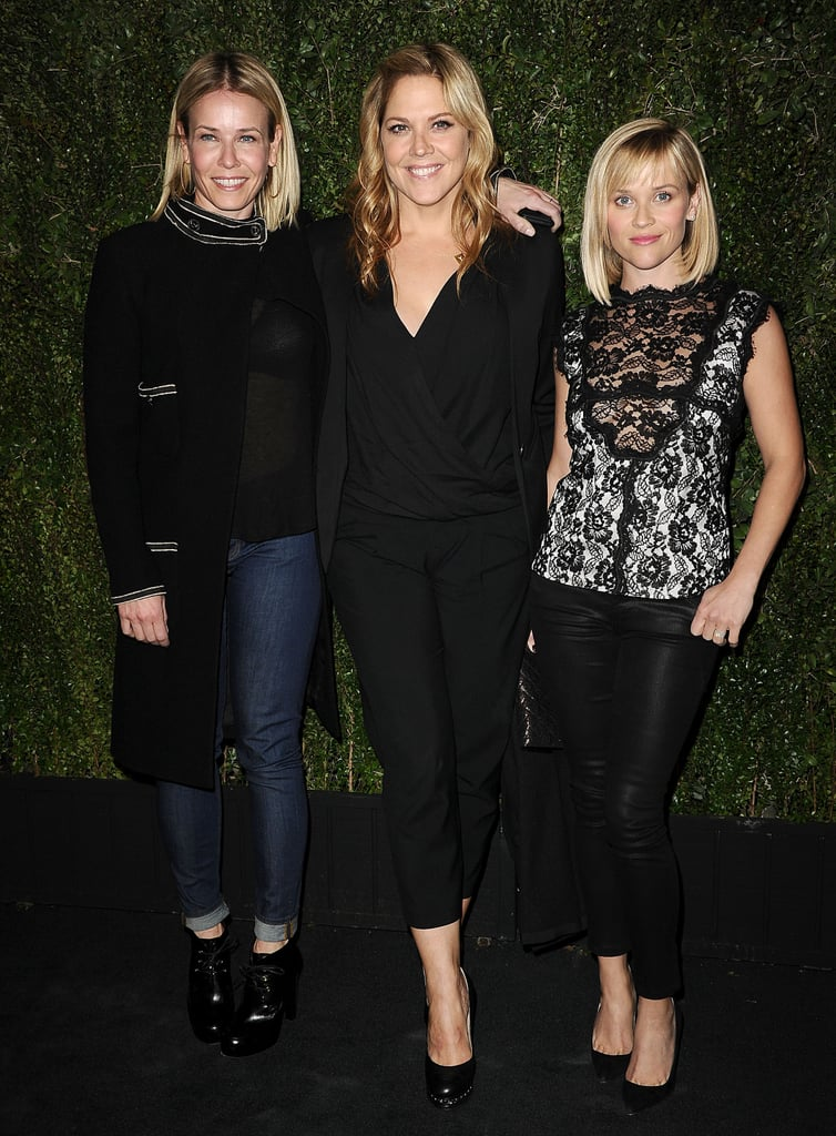 Chelsea Handler, Mary McCormack, and Reese Witherspoon met up for photos.