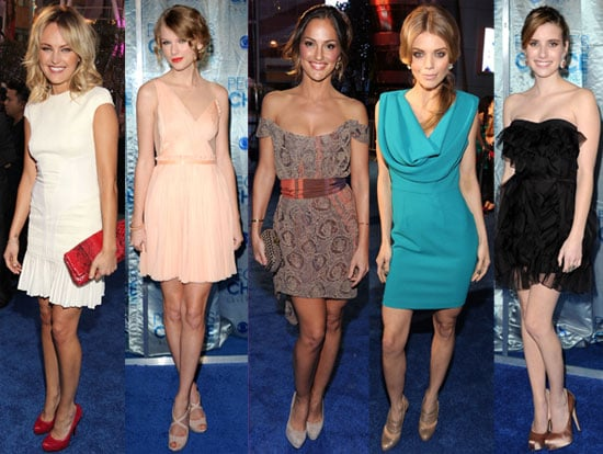 Pictures of the 2011 People's Choice Awards Red Carpet Dresses