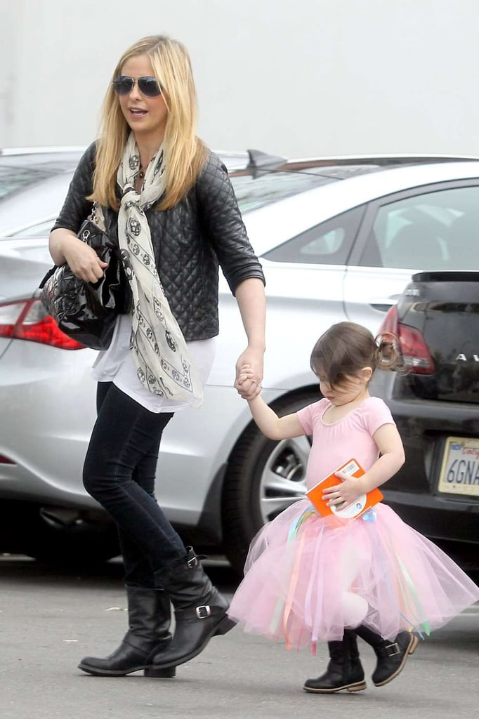 Charlotte Prinze and Sarah Michelle Gellar sported matching boots.