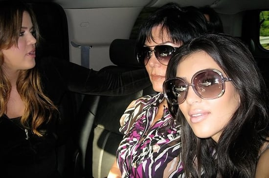 These Are The Pictures That Kim Kardashian Took Of Herself While Driving Khloe To Jail