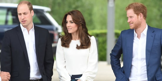Will, Kate And Harry Are Knockouts As They Launch A Mental Health Initiative