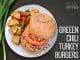 Green Chile Turkey Burgers