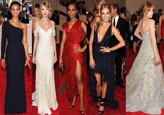 Best Dressed at 2010 Costume Institute Met Gala