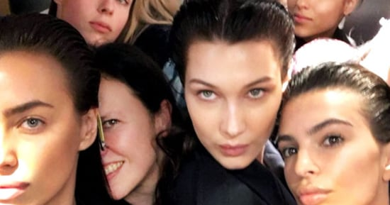 Look at All These Gorgeous Models Crammed into an Elevator During Paris Fashion Week