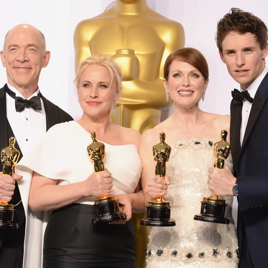 Pictures From the Oscar Press Room