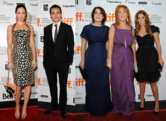 Photos of Emily Blunt, Rupert Friend, Sarah Ferguson, Princess Beatrice, Princess Eugenie at The Young Victoria at TIFF