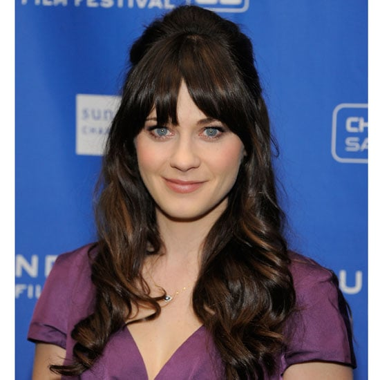 Zooey Deschanel's Glowing Complexion