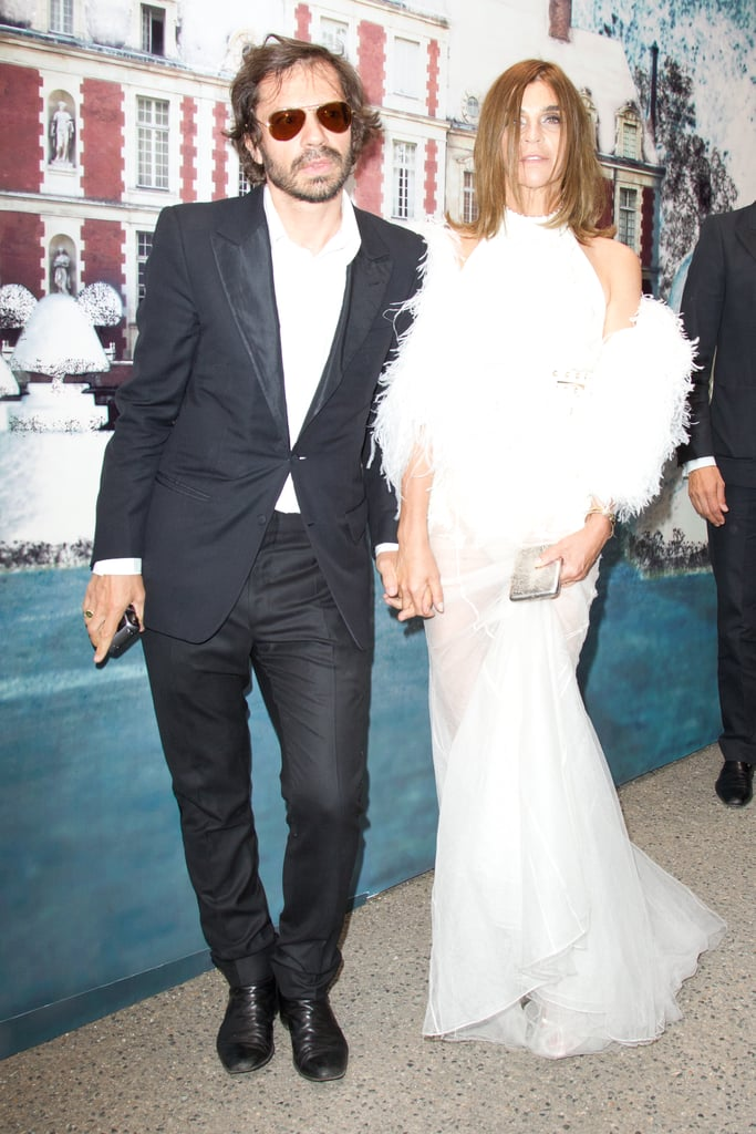 Olivier Zahm, Carine Roitfeld in Givenchy couture