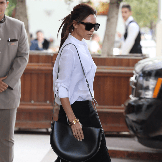 Victoria Beckham Wearing Black Pants in Cannes May 2016