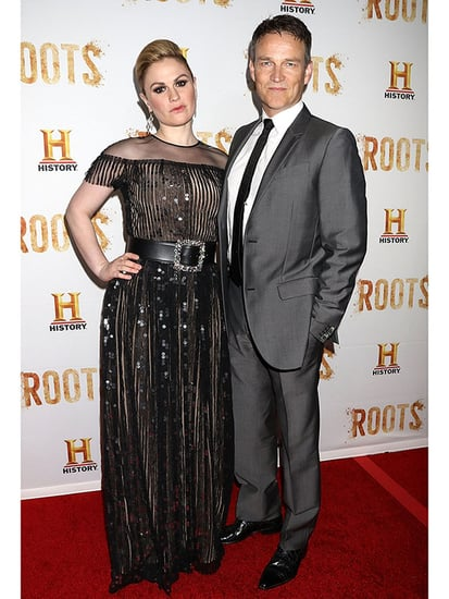 Anna Paquin Gives Vampy Vibes At Roots Premiere With Husband Stephen Moyer