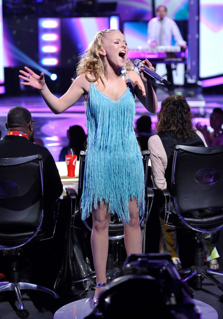 Hollie Cavanagh belted out some high notes.
