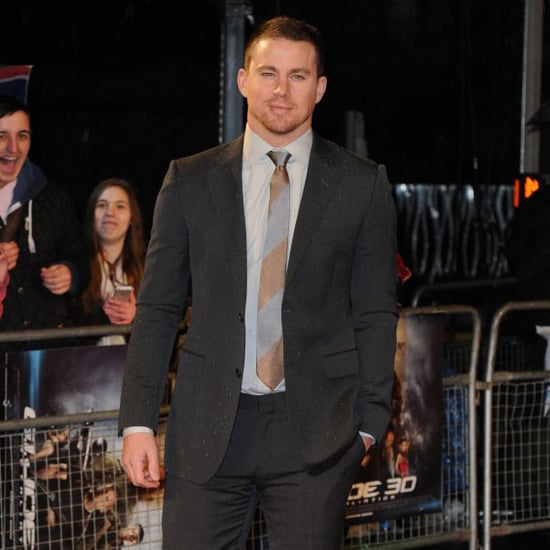 Channing Tatum at London Premiere of G.I. Joe Retaliation