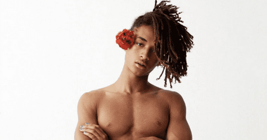 Jaden Smith Shirtless In A Skirt Is A Gender-Fluid Dream Come True