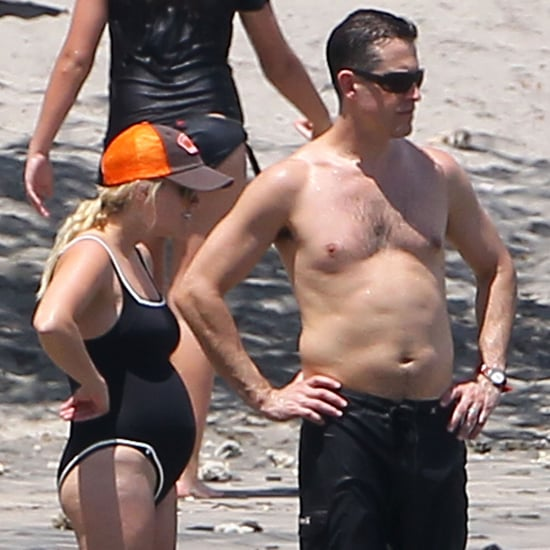 Pregnant Reese Witherspoon Beach Bathing Suit Pictures