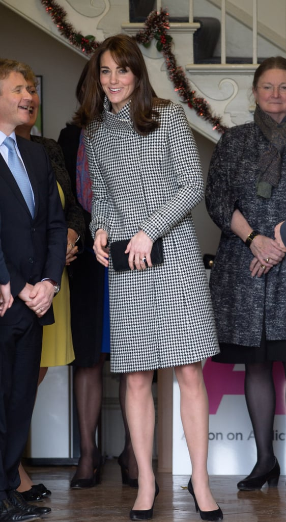 Kate Middleton at an Action on Addiction Meeting in London During 2015