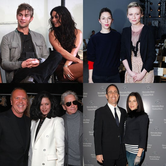 Pictures of Chace Crawford, Vanessa Hudgens, Kirsten Dunst, Kanye West, and More at 2011 Fall New York Fashion Week