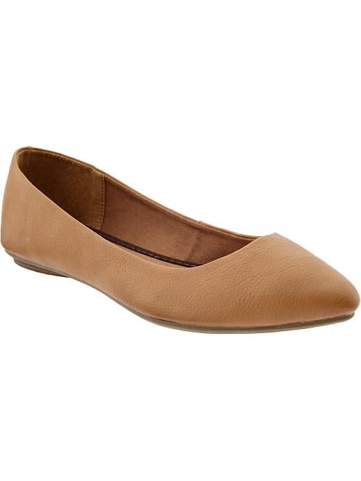 Meet your everyday ballet flat ($23), courtesy of Old Navy.