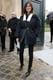 Emmanuelle Alt at the Christian Dior Haute Couture show.