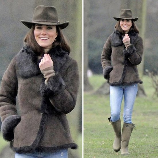Kate Middleton's Shearling LK Bennett Jacket