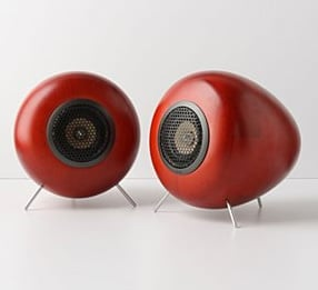 Beautiful Glow Audio Wood Speakers From Anthropologie