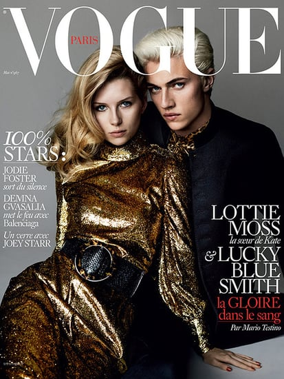 Kate Moss' Little Sister, Lottie, Lands First Vogue Cover