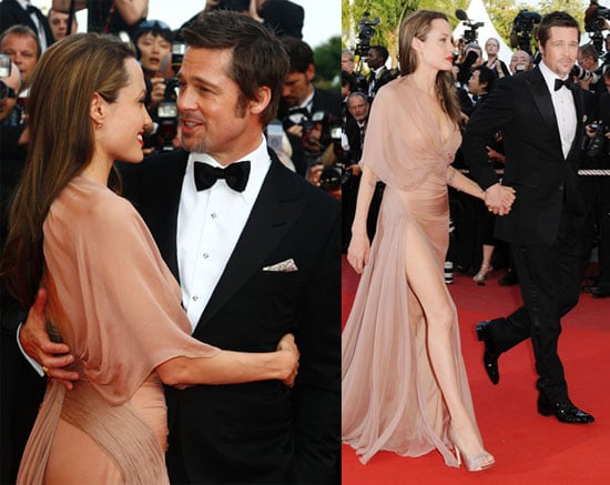 Photos of Brad Pitt, Angelina Jolie, Robert Pattinson at the Premiere of Inglorious Basterds at the 2009 Cannes Film Festival