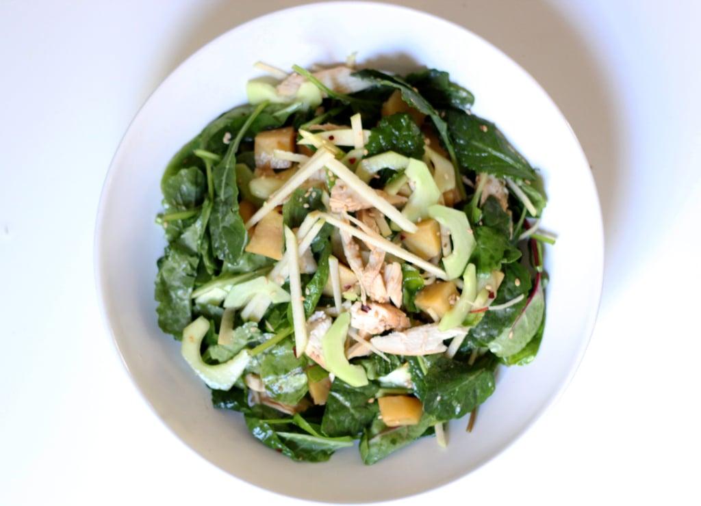 Baby Kale Sesame Salad