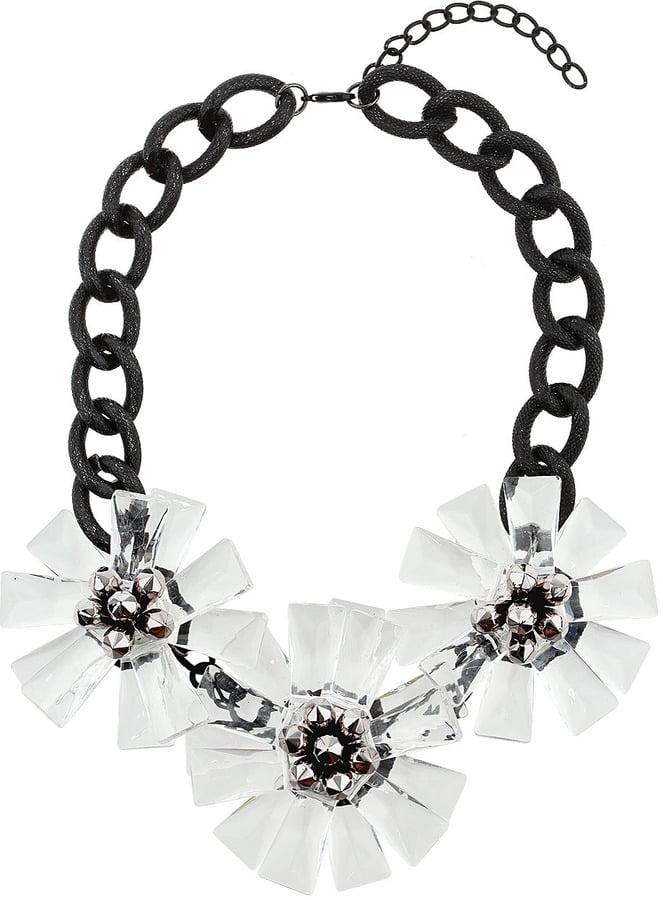 Topshop Floral Statement Necklace